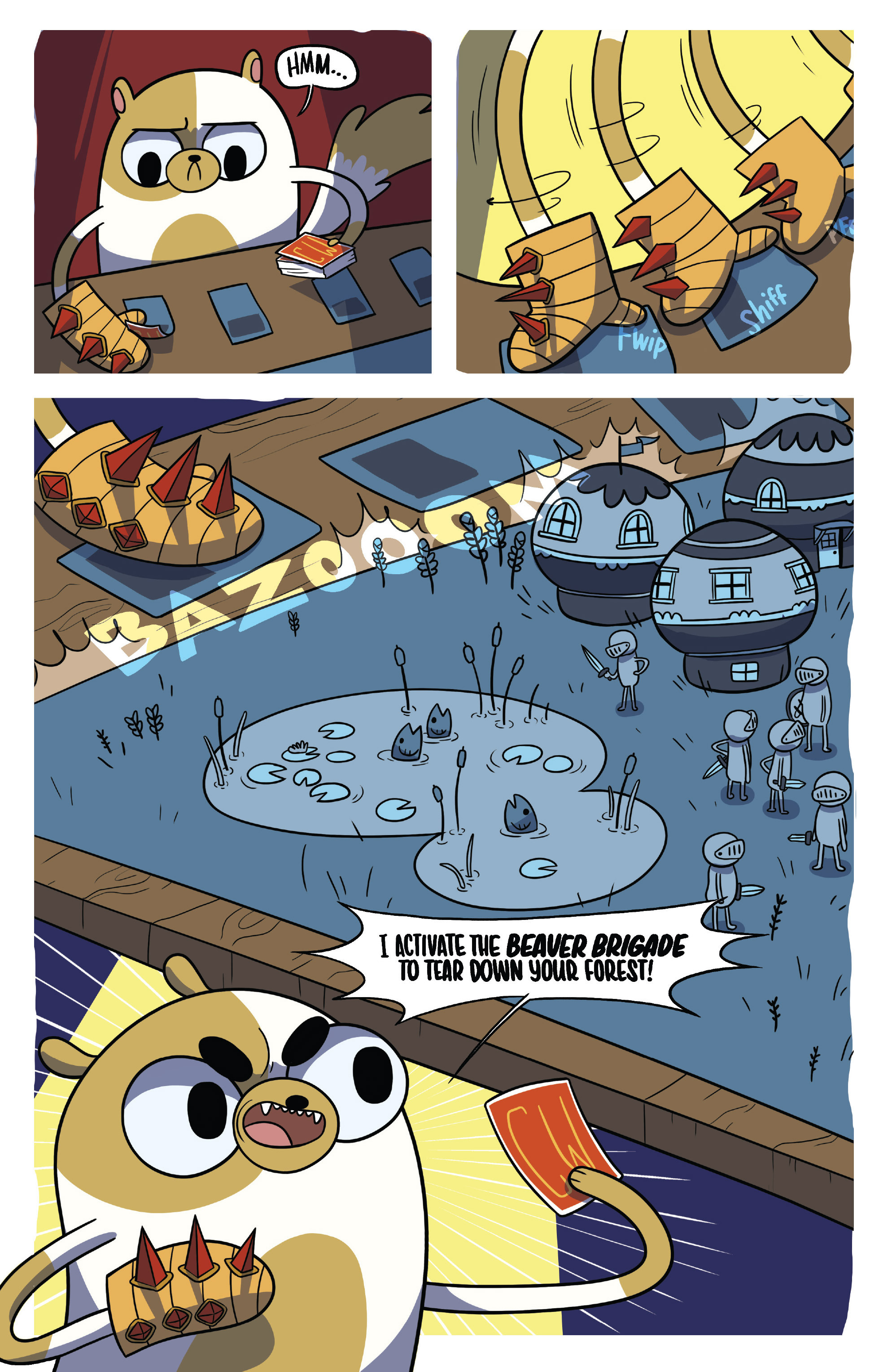 Read online Adventure Time Fionna and Cake Card Wars comic -  Issue #5 - 7