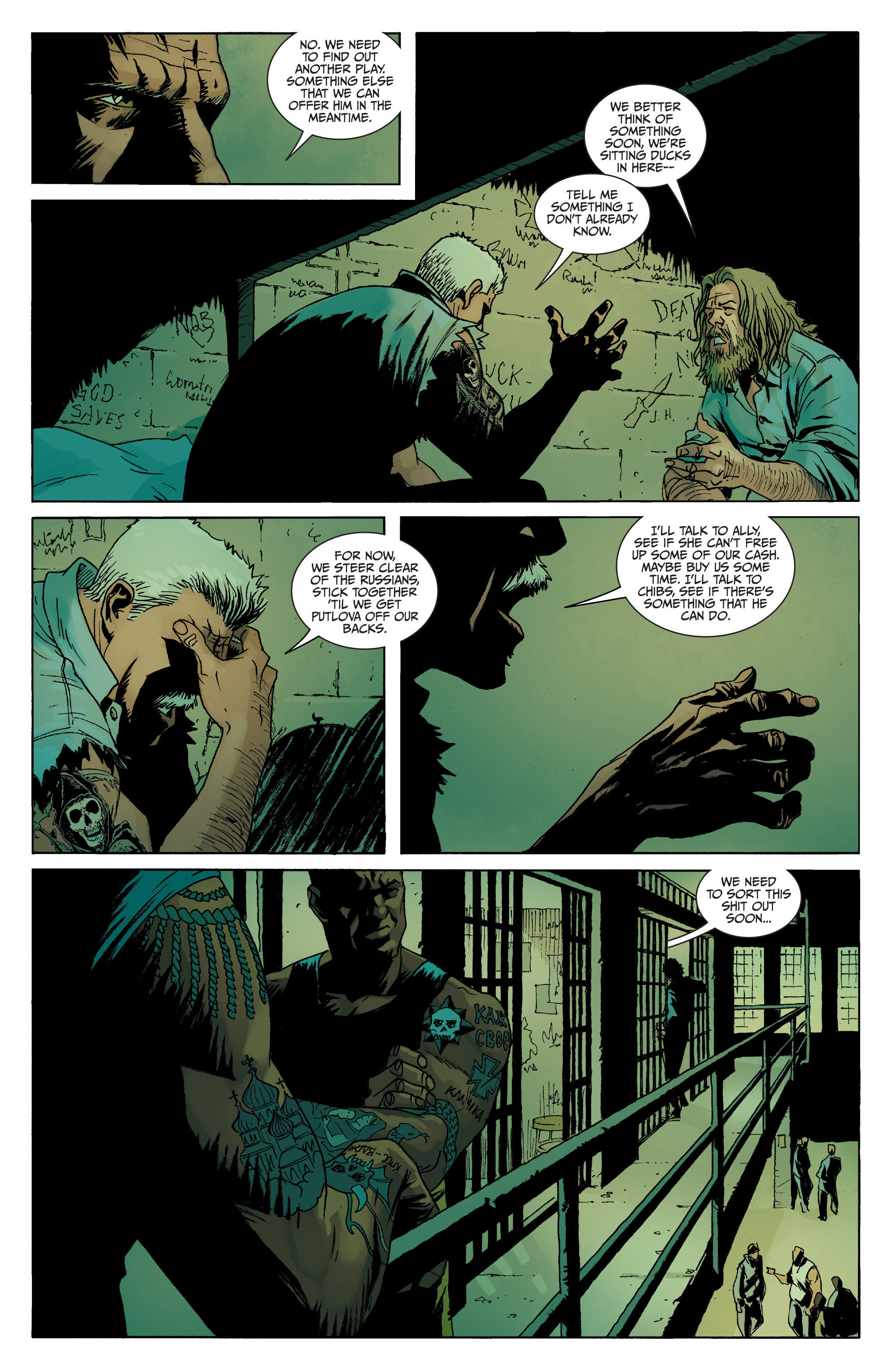 Read online Sons of Anarchy comic -  Issue #8 - 21