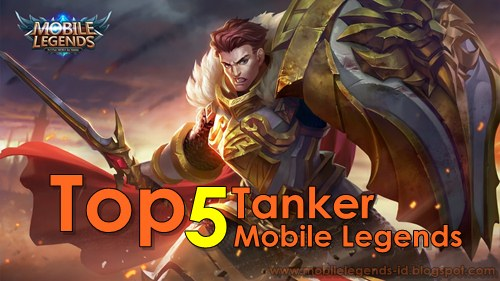 5 Hero Tank Terbaik di Mobile Legends Bang bang