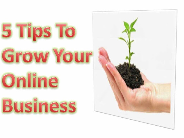 5 Tips to grow your online business