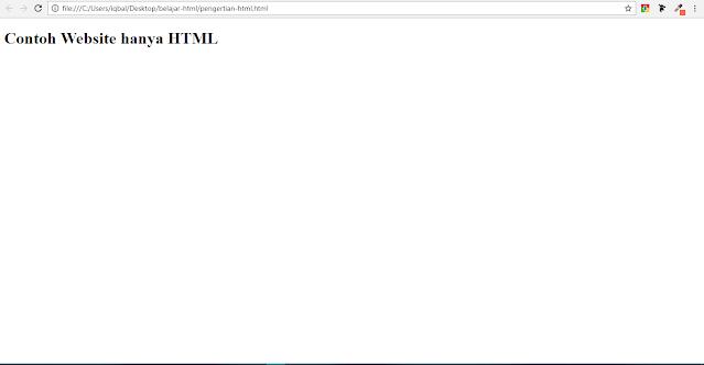 pengertian html dan fungsinya