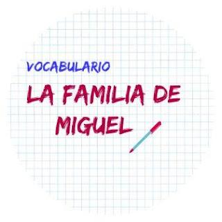 VOCABULARIO ELE. La familia. Texto y ejercicio.