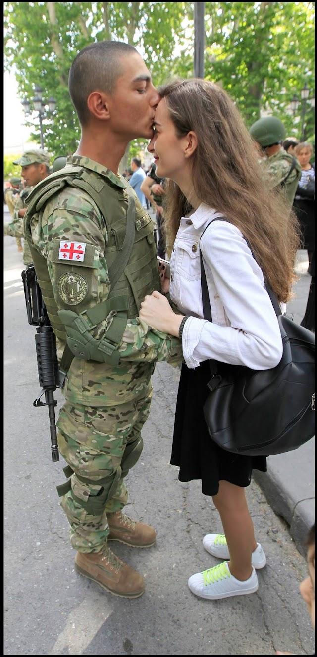 30 апреля - День Вооруженных сил Грузии