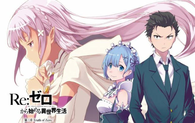 Re:Zero - Starting Life in Another World  - Best Fantasy Romance Anime list