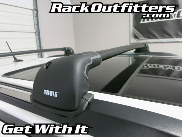 Rack Outfitters Jeep Grand Cherokee Thule Black Aeroblade