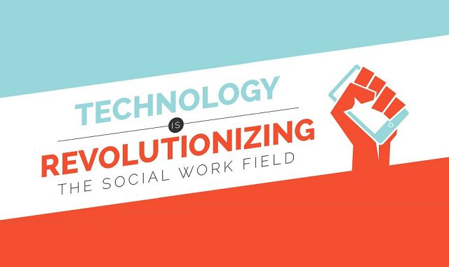 Image: Technology is Revolutionizing the Social Work Field #infographic