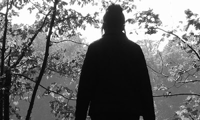 7 Signs She's Not Ready to Commit ,lonely girl woods forest black and white sad scared frightnend