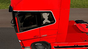 Girls decals for Volvo 2013