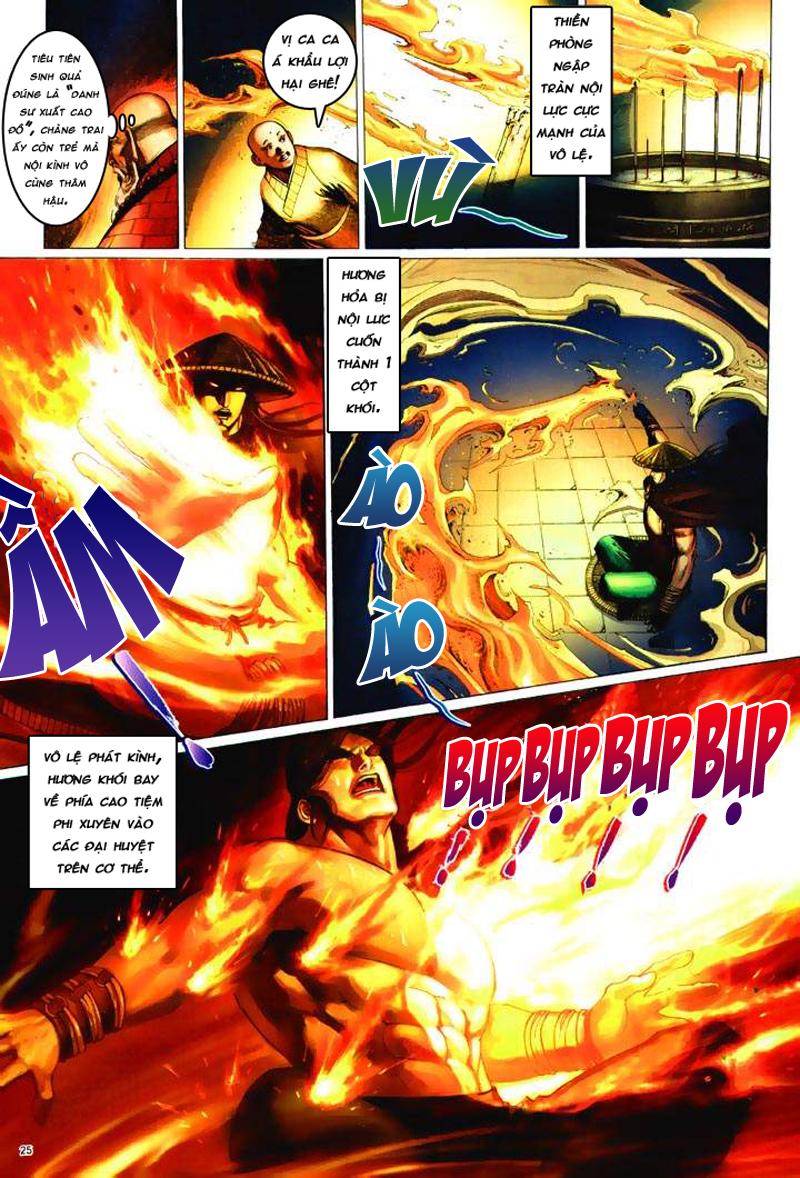 Anh hùng vô lệ Chap 6: Anh hùng hữu lệ trang 25