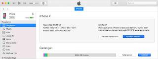 Cara update iphone, ipad dan ipod touch ke ios terbaru lewat itunes