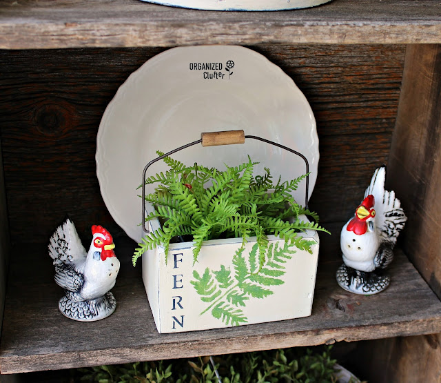 Garage Sale Makeovers #upcycle #stencil #vintage #repurpose #farmhouse