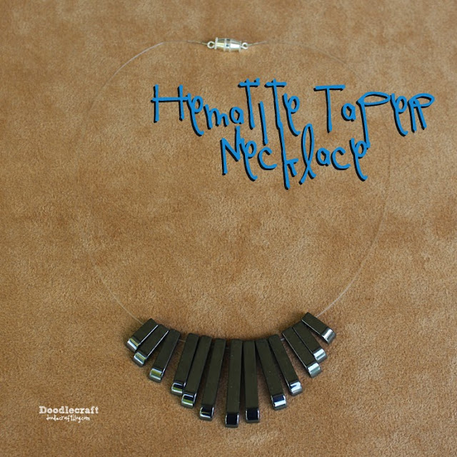 http://www.doodlecraftblog.com/2015/05/hematite-tapered-necklace.html