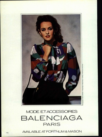 High Fashion Ads of the Eighties | Hercule Archive