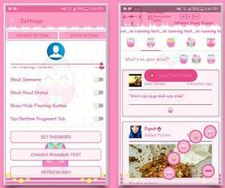 BBM Mod Owl V3.2.0.6 Apk Terbaru