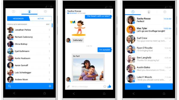 إضافة الفيس بوك للمحادثات الصوتيه الجماعيه داخل جروبات تطبيق الماسنجر.