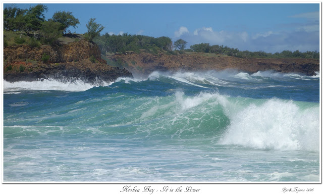 Keokea Bay:  It is the Power