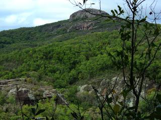Vista a Partir da Caverna Percival Antunes, em Caçapava do Sul
