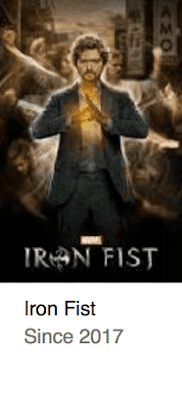 Iron Fist Best TV Series