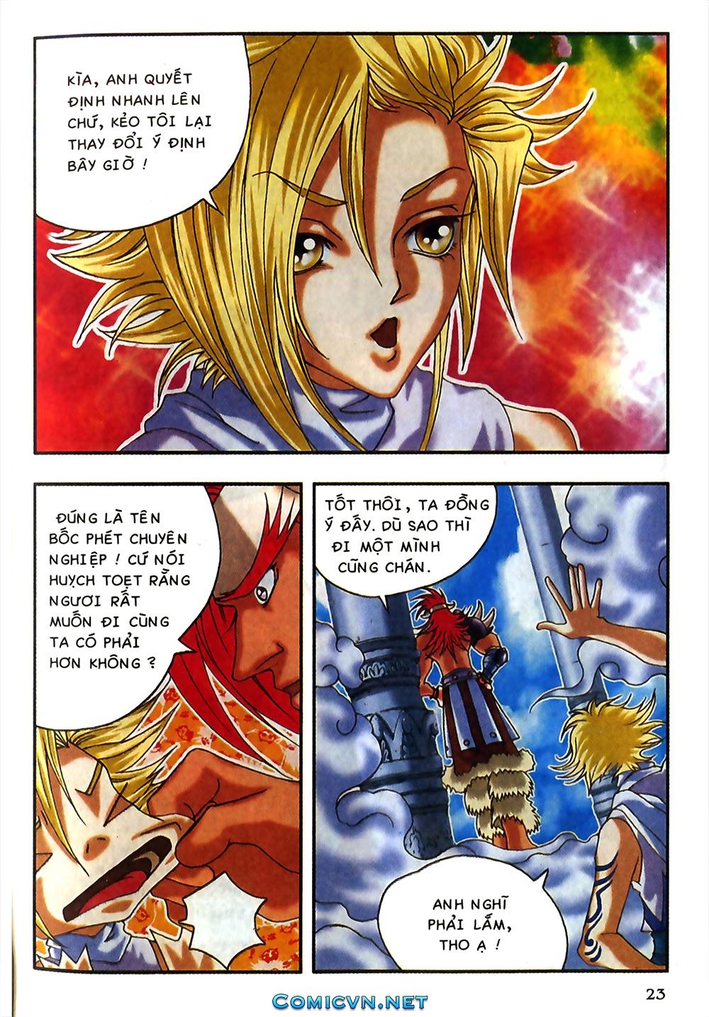 Thần thoại Bắc Âu - Chapter 18: Thần sấm sét - Pic 24