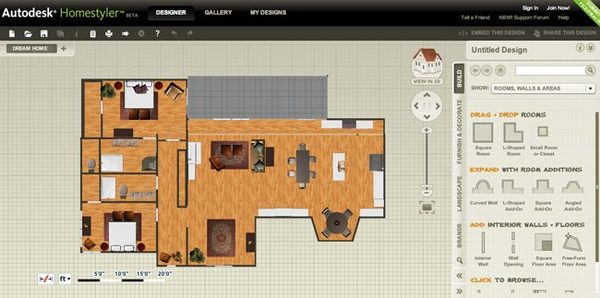 Autodesk Home Design Software Autodesk Homestyler