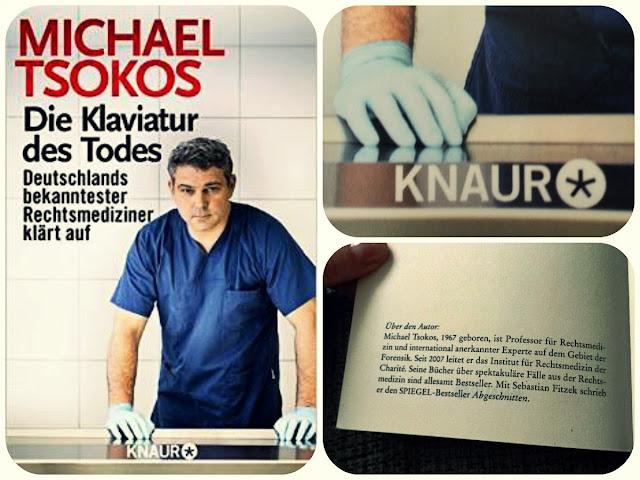 """Rezension """"Die Klaviatur des Todes"""" von Michael Tsokos www.nanawhatelse.at Der Salzburger Buch-Blog."""