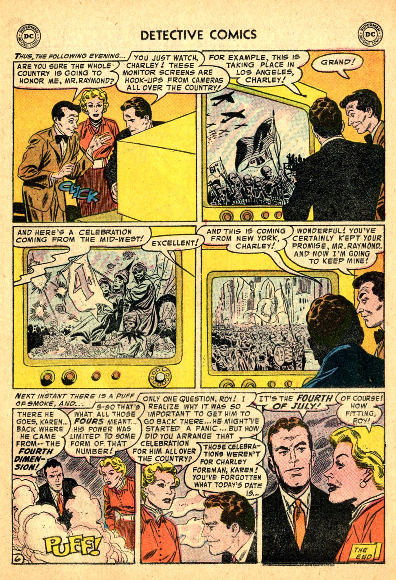 Read online Detective Comics (1937) comic -  Issue #227 - 23