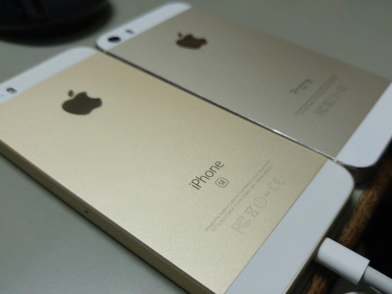 iPhone SE入手!!