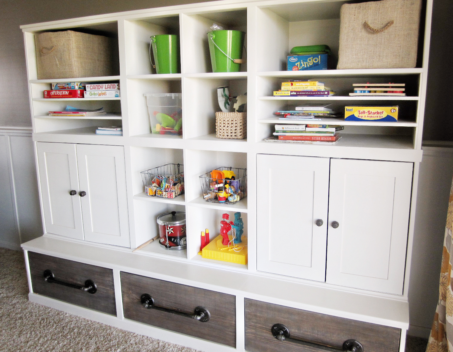 Kriskraft Play Room Storage Unit