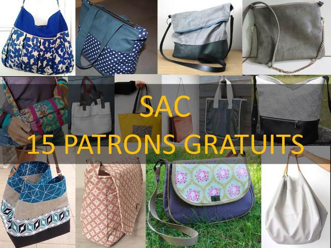 Bettinael Passion Couture Made In France Patron Couture Gratuit 15 Modeles De Sac