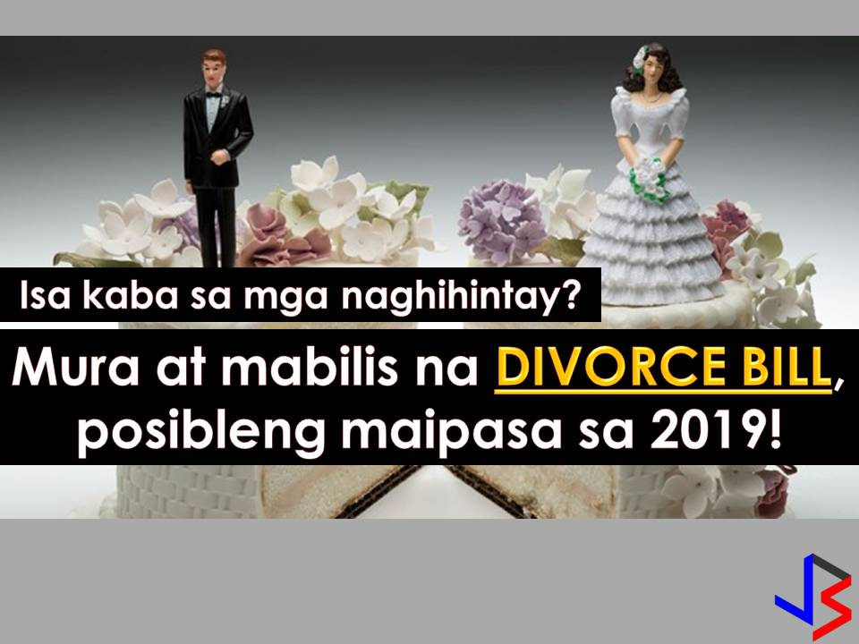 Divorce in the Philippines has been a long controversial issue. But Albay Representative Edcel Lagman believes this is the right time to pass the divorce bill and the country may have its own version in 2019.