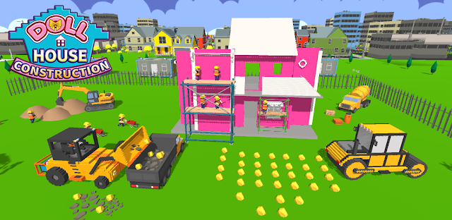 Game Doll House Design & Decoration : Girls House Games