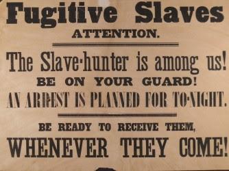 Broadsides to Warn Blacks About Slave Hunters