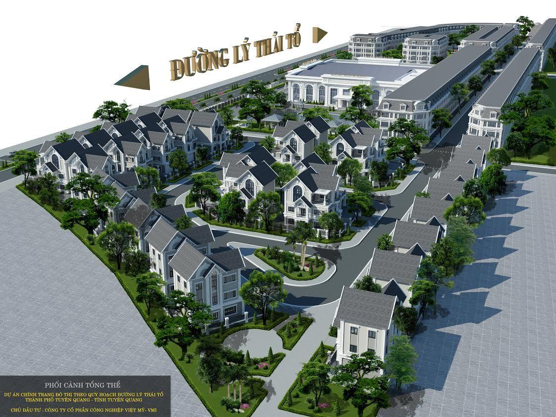 Phối cảnh dự án Việt Mỹ Villas.