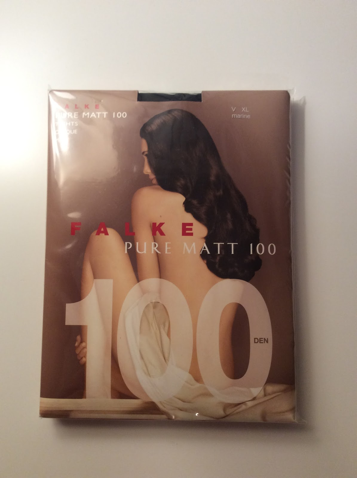 e36a04319df Hosiery For Men  Guest review  Falke Pure Matt 100 Opaque Tights