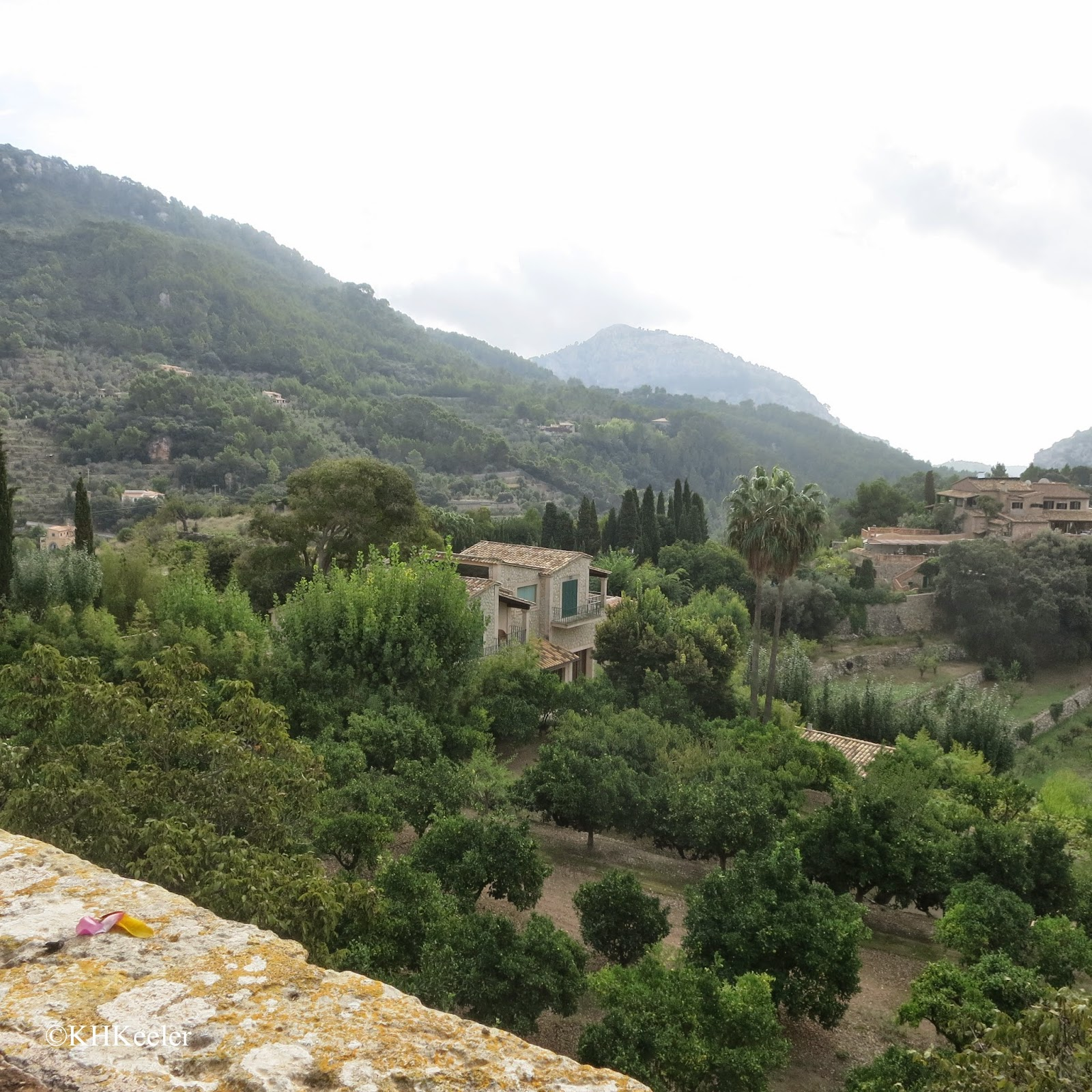 hillside and gardens, Mallorca