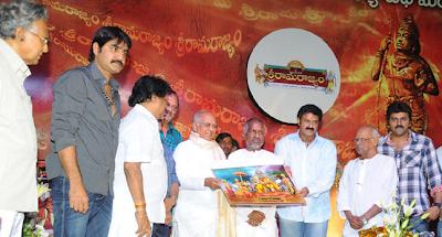 Sri Rama Rajyam Audio Success Meet – Balakrishna, Nayanthara