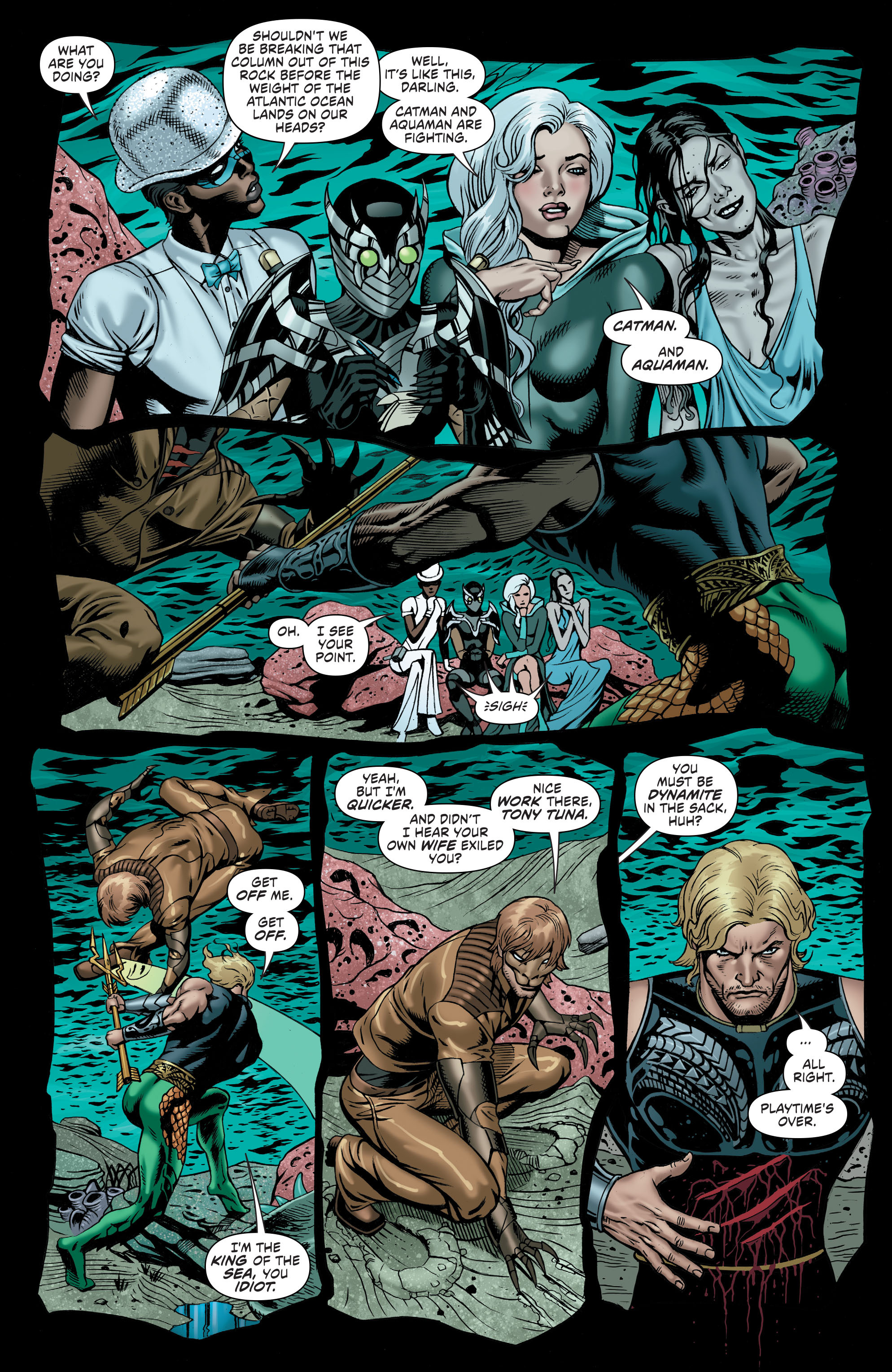 Read online Secret Six (2015) comic -  Issue #8 - 18