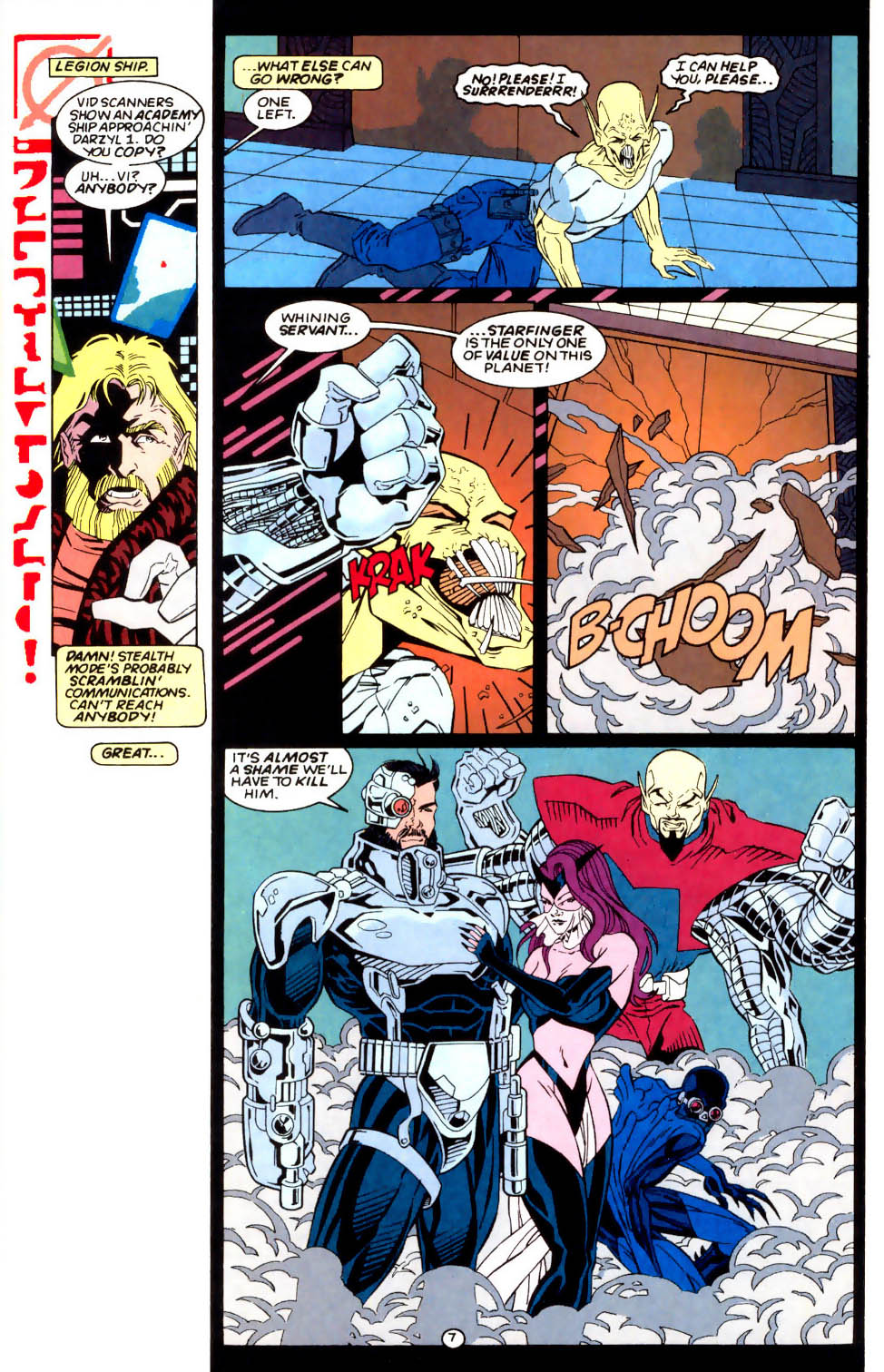 Legion of Super-Heroes (1989) 57 Page 7