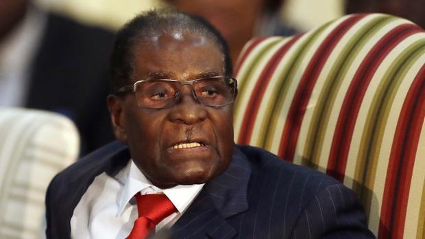 Mugabe in SA to plot Mnangagwa fall?