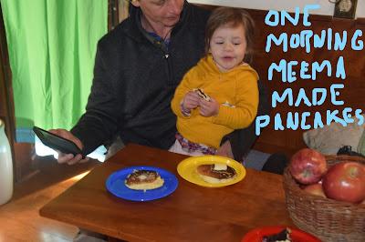Josie is a Pancake-Eating Girl