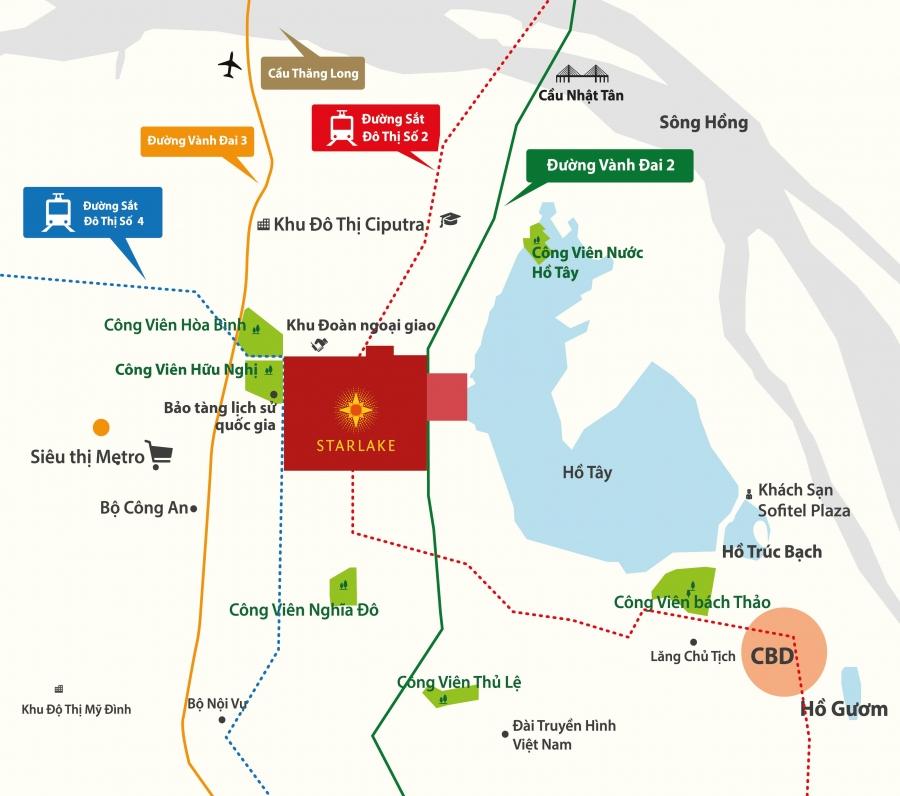 Biệt thự Tây Hồ Tây - Nơi linh khí hội tụ của thủ đô Hà Nội