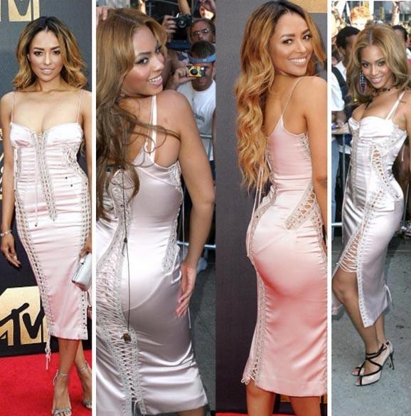 Kat Graham Vs Beyonce: Who Rocked The Dolce & Gabbana Dress Better?