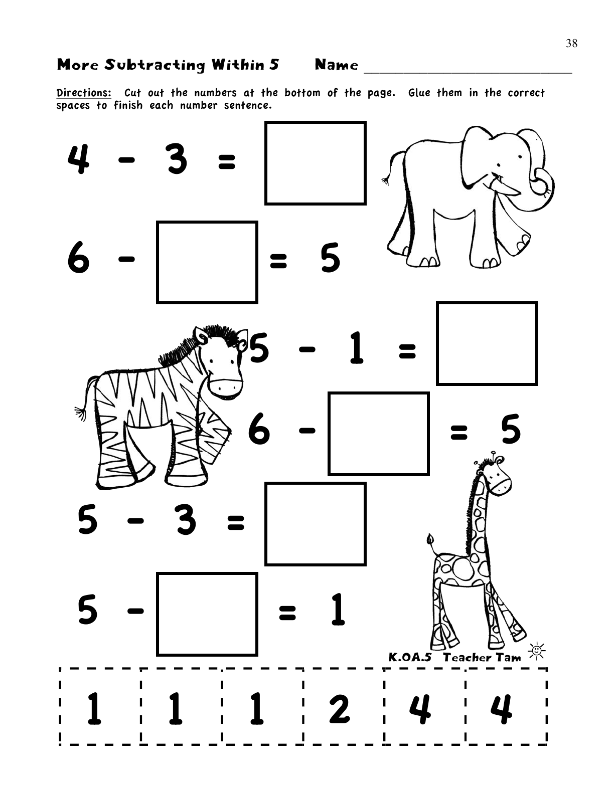 Search Results For Kindergarten Math Lesson Plan Addition