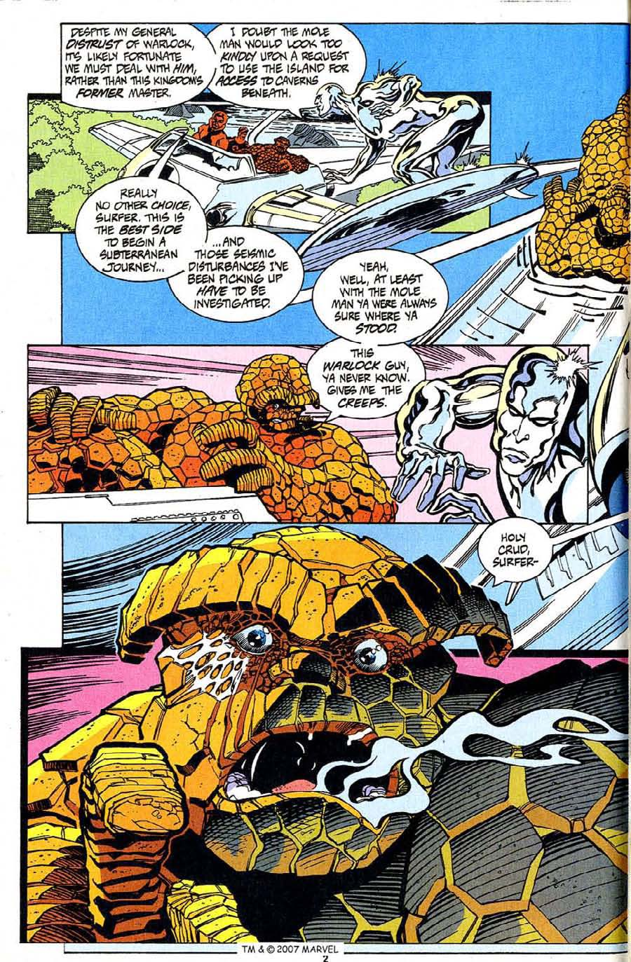 Read online Silver Surfer (1987) comic -  Issue #94 - 4