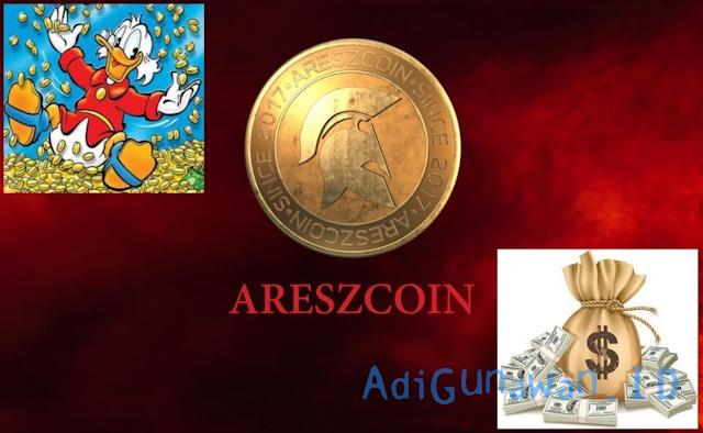 Panduan Investasi ICO di AreszCoin (ARC), Pemahaman Sistem Investasi ICO di AreszCoin (ARC), serta Cara Deposit AreszCoin (ARC) dan Trading / Menjual AreszCoin (ARC), Review AreszCoin