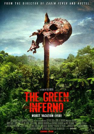 The Green Inferno 2013 BRRip 720p Dual Audio In Hindi English