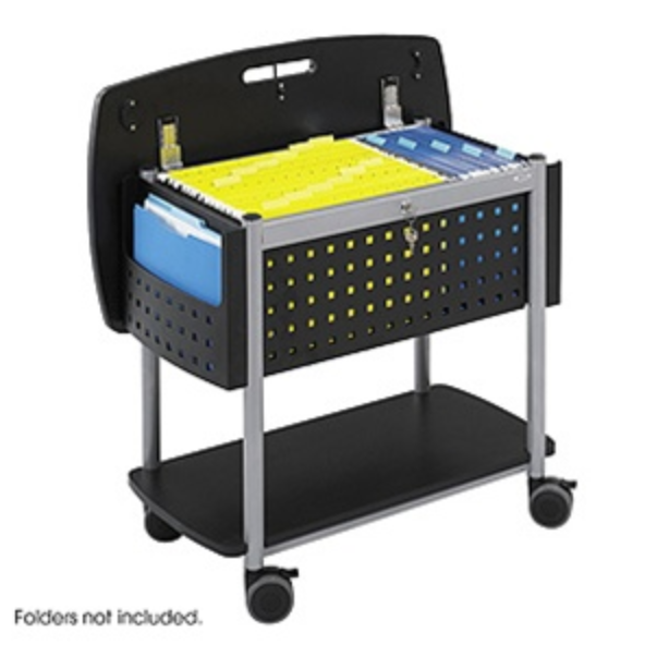 Safco Scoot Tub File Cart