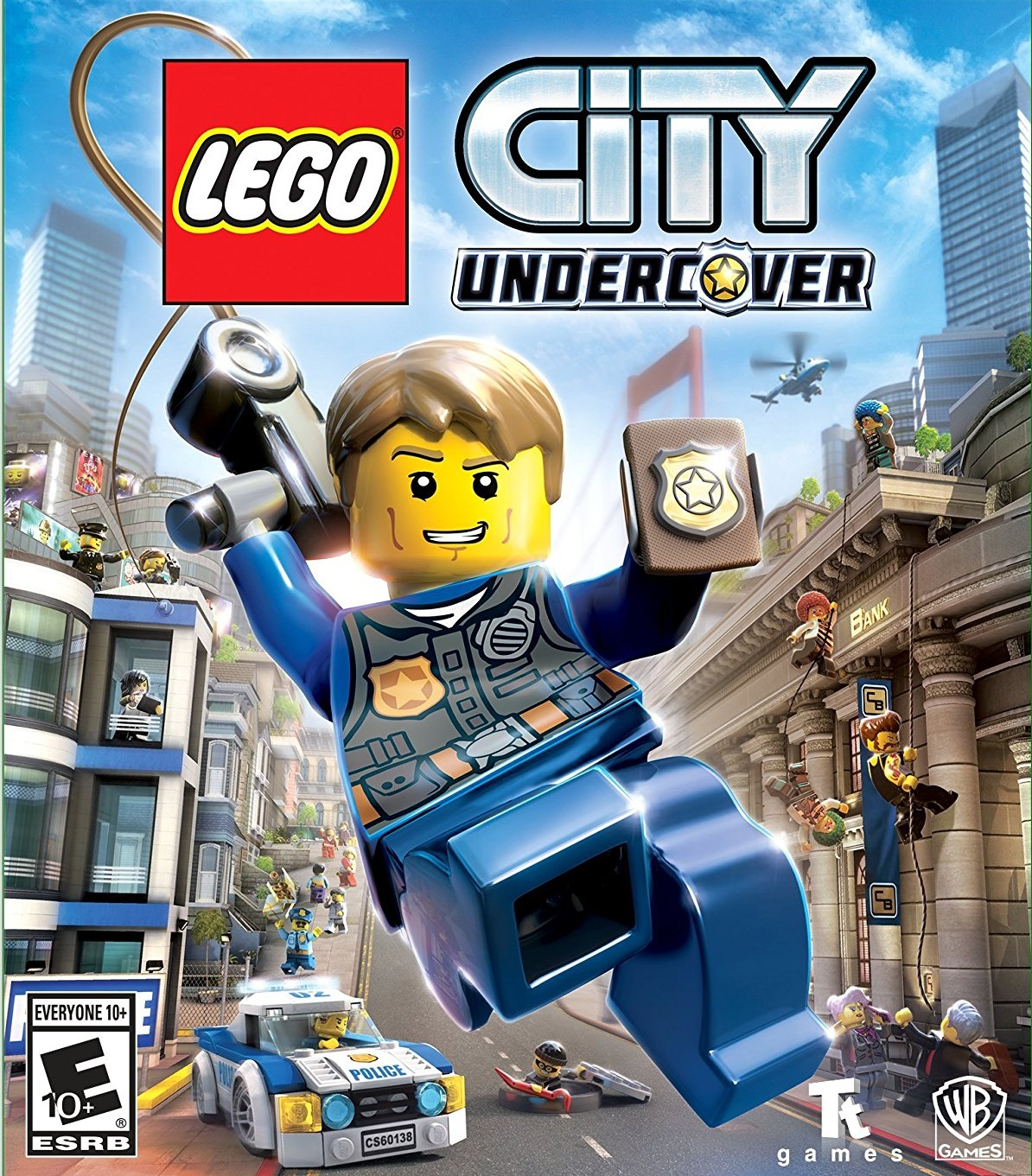 LEGO City Undercover ESPAÑOL PC Full