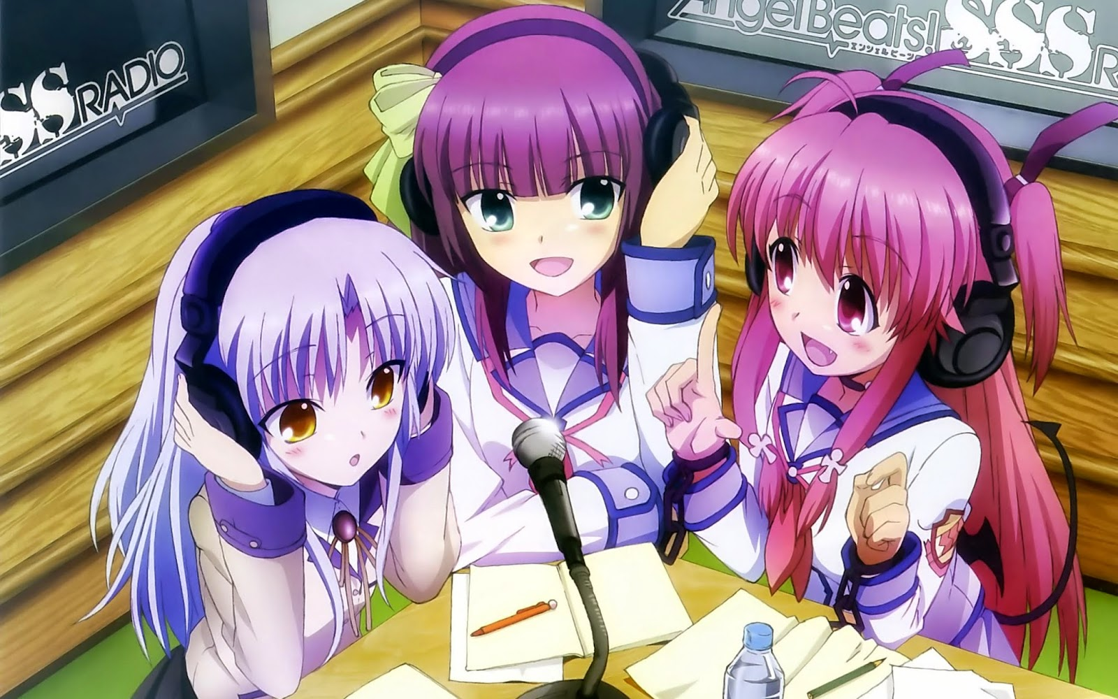 Angel Beats Girls
