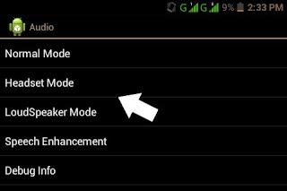 increase Android headphone volume